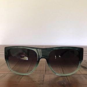 Burberry Green Ombre Sunglasses